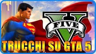 getlinkyoutube.com-GTA 5 PS4 : TRUCCHI !!! Volare Come Superman,Neve,Invincibilita' !