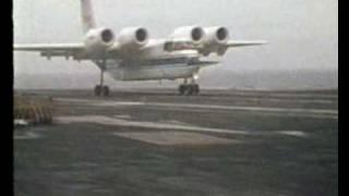 getlinkyoutube.com-NASA Quiet Short-Haul Research Aircraft (QSRA) Carrier Trials