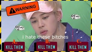 BTS CRACK  JIMIN IS VERY ANGRY