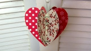 getlinkyoutube.com-Mothers day paper heart decoration card