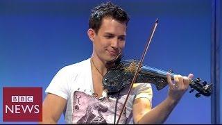 getlinkyoutube.com-Fastest violinist in the world - BBC News