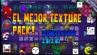 getlinkyoutube.com-Texture Pack - Geometry Dash 2.0/2.01 Pc/Android (Mega) 2016 ( ͡° ͜ʖ ͡°) El Mejor TP :v