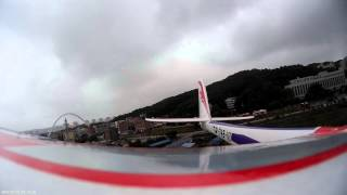 getlinkyoutube.com-Phoenix 1600 EPO Composite R/C Glider cloud surfing-rear view with mobius