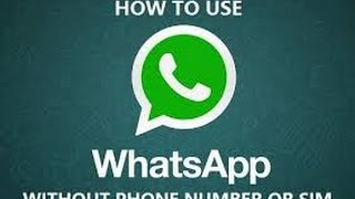 getlinkyoutube.com-activite whatsapp with a fake USA number without jailbreak or sim card / android