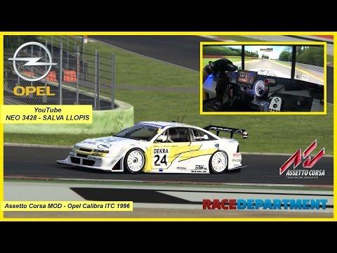 Assetto Corsa MOD - Opel Calibra ITC 1996 - Spa Francorchamps