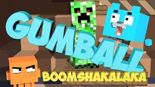 getlinkyoutube.com-A Minecraft Animation The Amazing World of Gumball Parody 3d Minecraft Animations