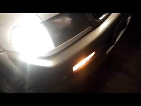 Доп свет при включении поворота Mitsubishi Challenger