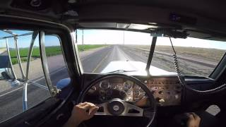 getlinkyoutube.com-GoPro: Peterbilt 379, Western Commodity Express, POV