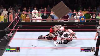 WWE 2K16 Extreme Moments and Bumps