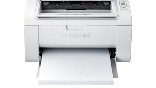 getlinkyoutube.com-Samsung ML 2165W WIFI (TEST)