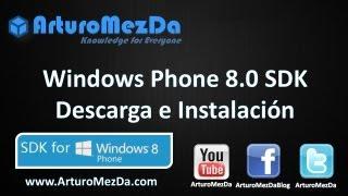 getlinkyoutube.com-Windows Phone 8.0 SDK Descarga e Instalación