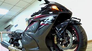 getlinkyoutube.com-#Bikes@Dinos: Suzuki Hayabusa GSX 1300R Black Walkaround Review