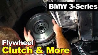 getlinkyoutube.com-1998 BMW E36 3-series Clutch Assembly, Flywheel, and Rear Main Seal Replacement
