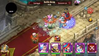 getlinkyoutube.com-Magic Rush: Heroes Bug