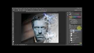 getlinkyoutube.com-[Tutorial] Photoshop effetto disintegrazione