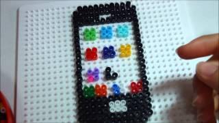 iphone in pyssla/ hama beads tutorial