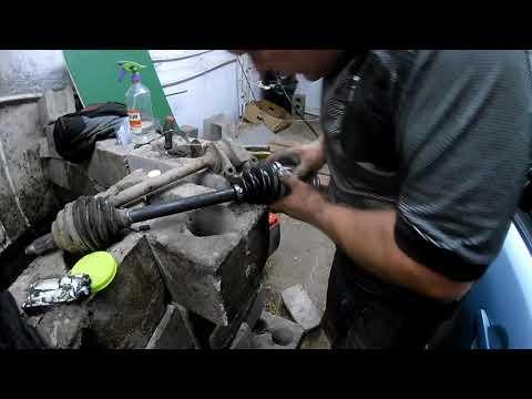 Мазда 3 правая сторона замена шрус трипоид подшипник ремонт