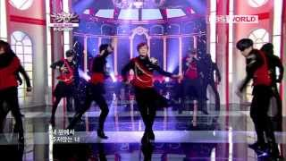 [Music Bank K-Chart] BOYFRIEND - JANUS (2012.11.9)