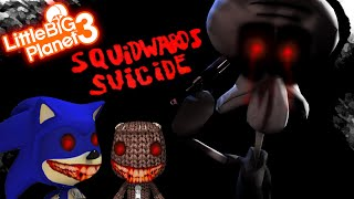 getlinkyoutube.com-LBP3 - SQUIDWARD'S SUICIDE [LITTLE BIG PLANET 3 HORROR LEVEL] /w  SIR SONIC HD