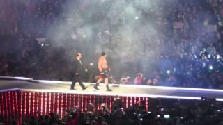 Brock Lesnar's Entrance At Wrestlemania XXIX
