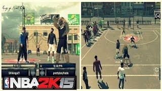 getlinkyoutube.com-NBA 2K15   My Park Gameplay   Legend 3 Mascot   2k16 announcement - Prettyboyfredo