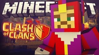 """getlinkyoutube.com-CLASH OF CLANS! """"THE TOWN HALL!!"""" (Minecraft Roleplay Adventure) [1]"""