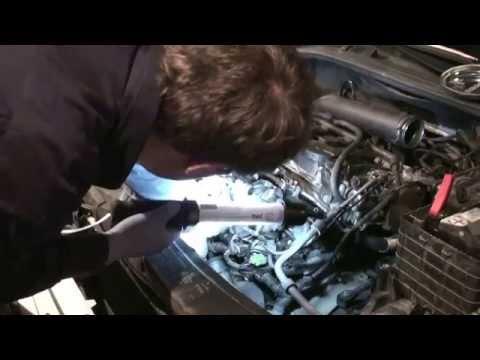 Снятие и ремонт впускного коллектора 1,8ТСИ/1,8TSI intake manifold removal