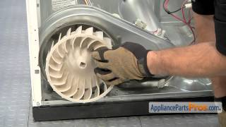 getlinkyoutube.com-Dryer Blower Wheel (part #WP697772) - How To Replace