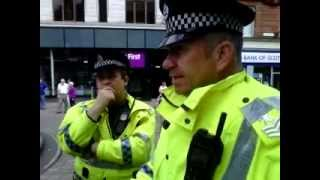 getlinkyoutube.com-Open Air Preacher Mike Stockwell Harassed by Police in Stirling England