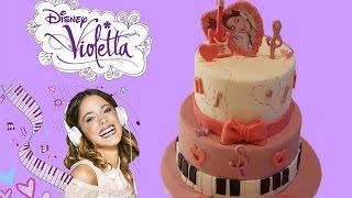 getlinkyoutube.com-GATEAU VIOLETTA - VIOLETTA CAKE - CAKE DESIGN