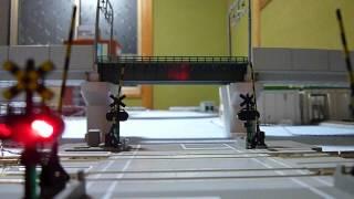 getlinkyoutube.com-【NゲージDCCレイアウト】 走行・踏切テスト2 2012-06-04