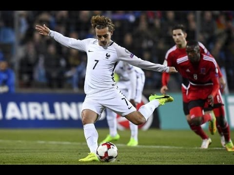 Luxembourg - France 1-3 Goals and Highlights 03/25/2017