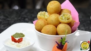 getlinkyoutube.com-Golden Fried Cheese & Sweetcorn Balls - By VahChef @ VahRehVah.com