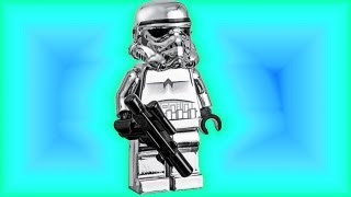 chrome lego stormtrooper promo minifigure lego 4591725 star wars review