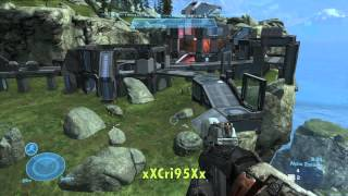 getlinkyoutube.com-Halo Reach Living Dead - 102 Kills Asylum - By xXCri95Xx