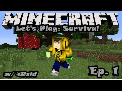 [MINECRAFT] LET'S PLAY:SURVIVAL EP.1-Do I look Sexay!?