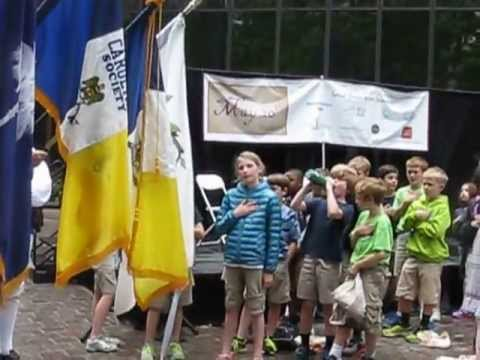 Mecklenburg Declaration Day - May 20, 2013 - Flag Presentation