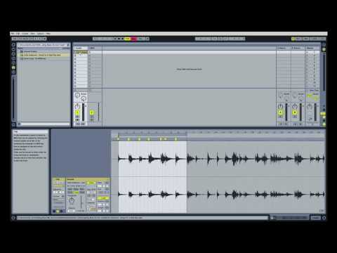 How To Slice A Bass Sample MPC Style With Ableton Live