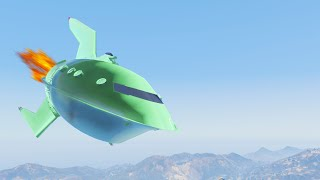 getlinkyoutube.com-EXTREME UFO MODS! (GTA 5 Funny Moments)