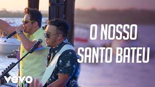getlinkyoutube.com-Matheus & Kauan - O Nosso Santo Bateu – Na Praia Ao Vivo