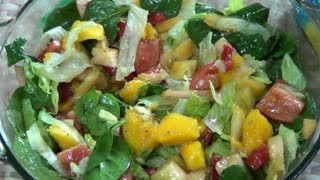 Fresh Garden Fruit-Veggie Salad