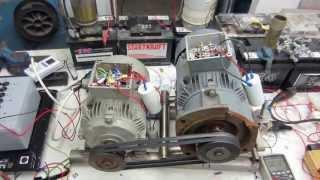 getlinkyoutube.com-Roto Verter RV mal anders, in 1,6KW - out 4,9KW Blindstrom / rotoverter / Teil 1