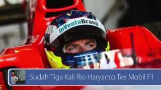 getlinkyoutube.com-Sudah Tiga Kali Rio Haryanto Tes Mobil F1