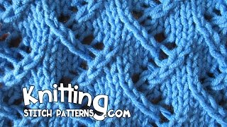getlinkyoutube.com-Zig Zag Lace Knitting