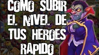 getlinkyoutube.com-Castillo furioso - Como subir el nivel de tus héroes