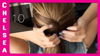 getlinkyoutube.com-10 EASY School Hairstyles! Short & Long - Chelsea Crockett