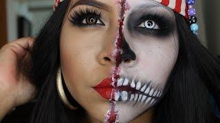 getlinkyoutube.com-Tutorial de maquillaje  Halloween: Mujer Pirata - Juancarlos960