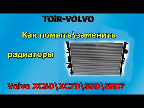 Volvo V60. радиаторов.