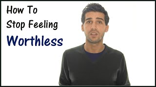 getlinkyoutube.com-How To Deal With Depression - Stop Feeling Worthless Now