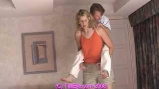 getlinkyoutube.com-TALL Elle and SHORT Roy